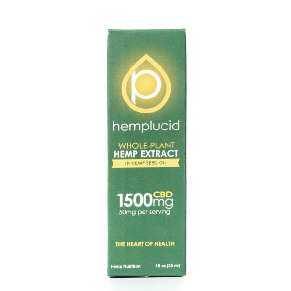 Hemp Lucid Hemp Seed Oil - 1500MG 30ML