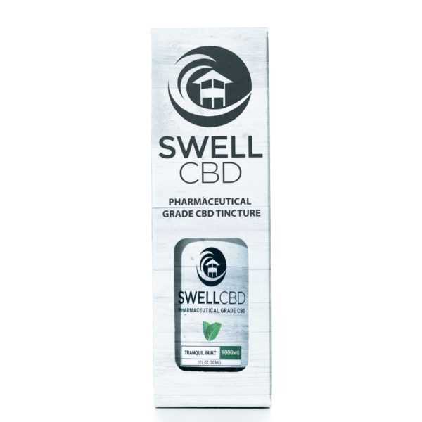Swell CBD Tranquil Mint 1000MG 30ML