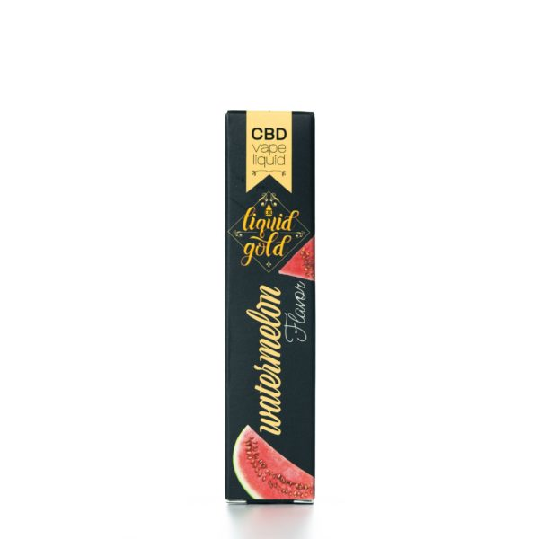 CBD Liquid Gold Vape Liquid - Watermelon - 5ML