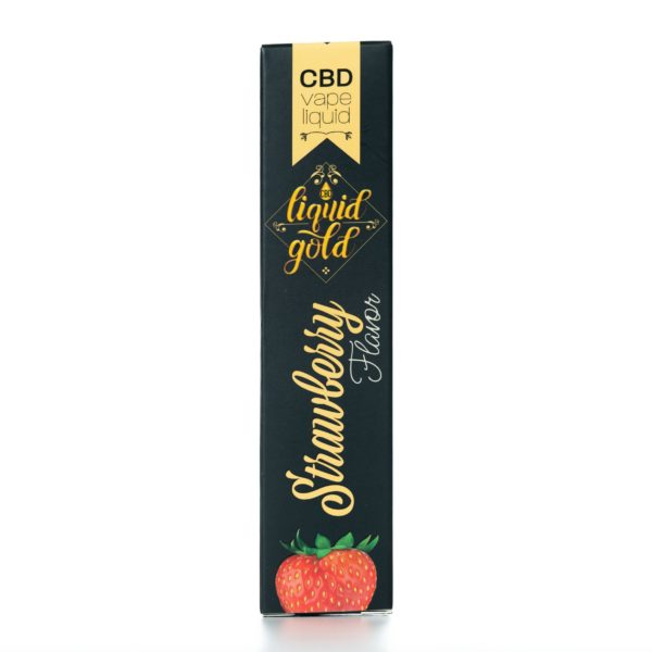 CBD Liquid Gold Vape Liquid - Strawberry - 12ML