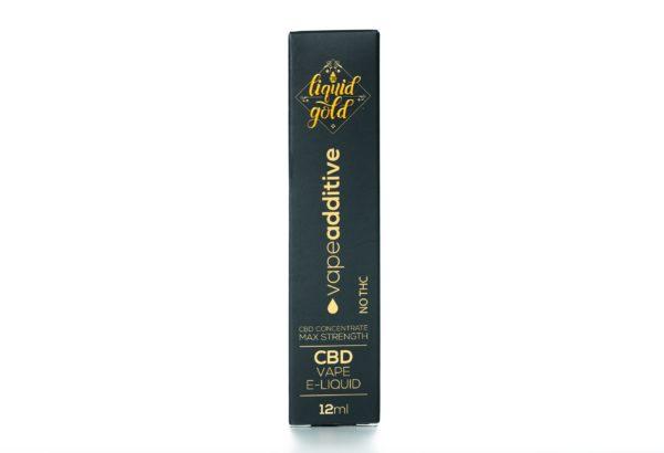 CBD Liquid Gold Vape Liquid - Additive - 12ML