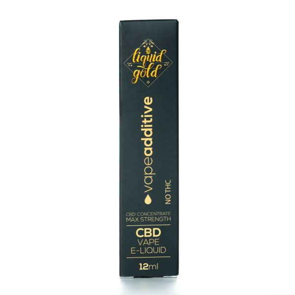 CBD Liquid Gold Vape Liquid - Additive - 12ML