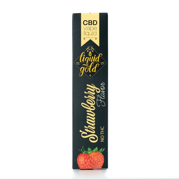 CBD Liquid Gold Vape Liquid - Strawberry - 16ML