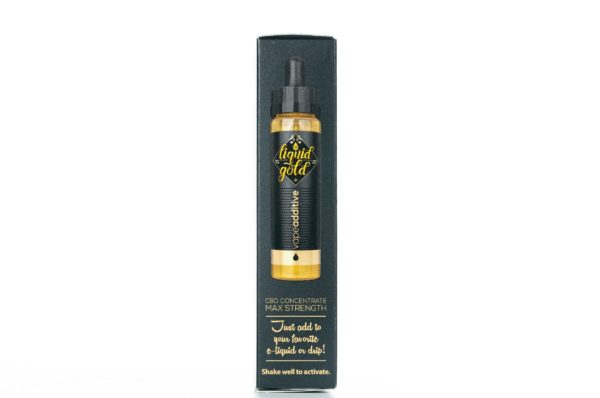 CBD Liquid Gold Vape Liquid - Additive - 16ML