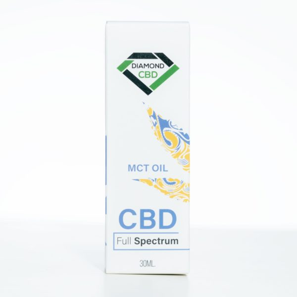 Diamond CBD MCT Oil - 1000MG 30ML