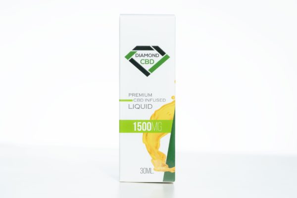 Diamond CBD Liquid - 1500MG 30ML