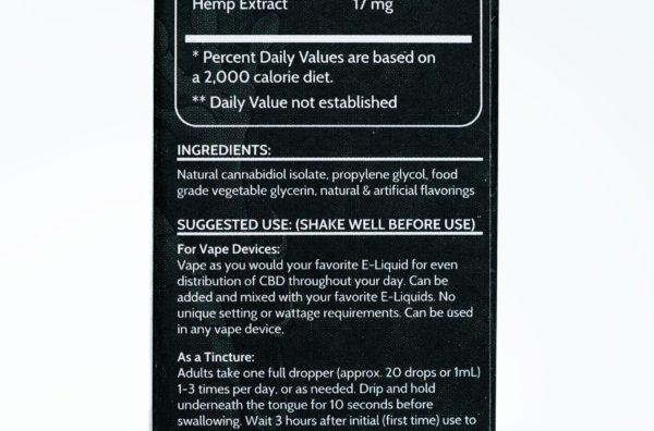 Koi CBD Vanilla Caramel Custard - 100MG 30ML