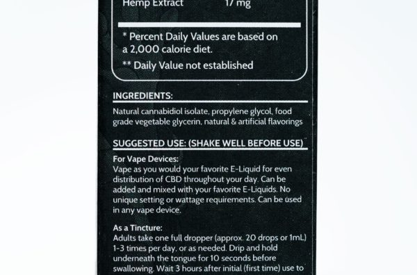 Koi CBD Tropical Popsicle - 100MG 30ML