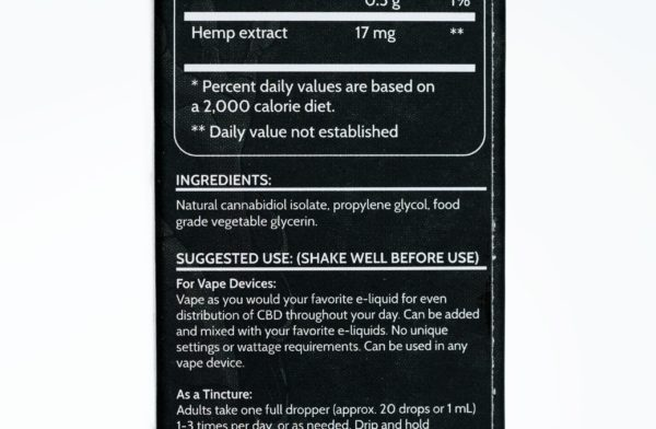 Koi CBD Flavorless Additive - 250MG 30ML