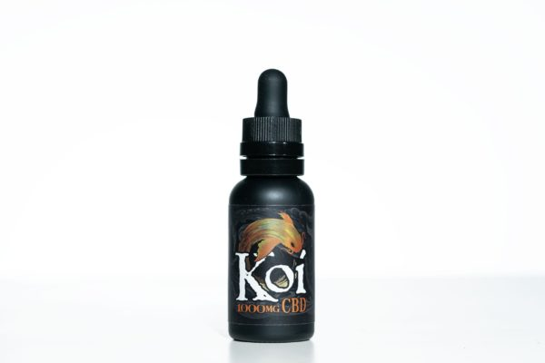Koi CBD Vanilla Caramel Custard - 1000MG 30ML