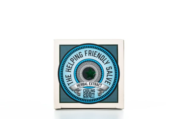 The Helping Friendly Salve Infused Topical - Cooling - 200MG 4oz