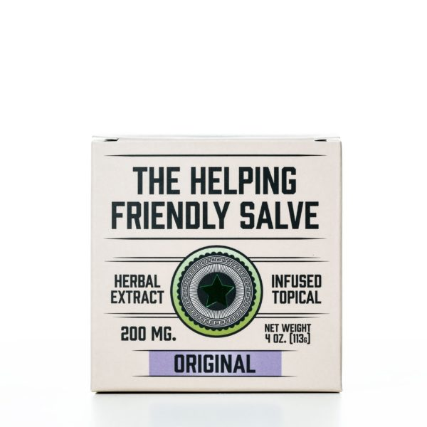 The Helping Friendly Salve Infused Topical - Original - 200MG 4oz