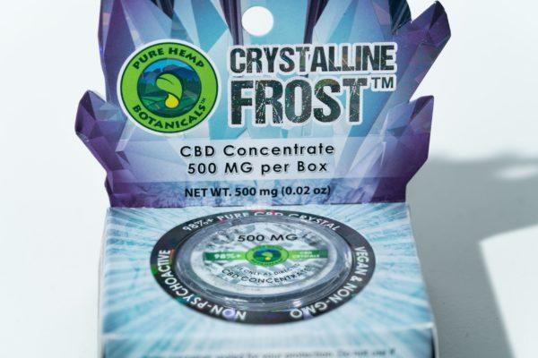 Pure Hemp Botanicals CBD Concentrate - Crystal - 500MG 0.5G