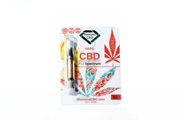 Diamond CBD Cartridge CBD Full Spectrum - 250MG 1G