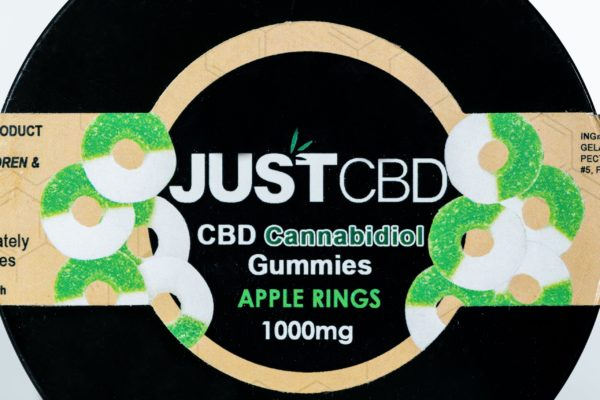 Just CBD Gummies - Apple Rings - 1000MG