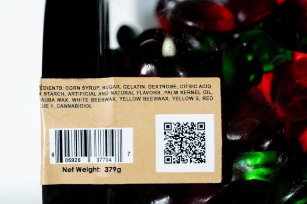 Just CBD Gummies - Gummy Cherries - 1000MG