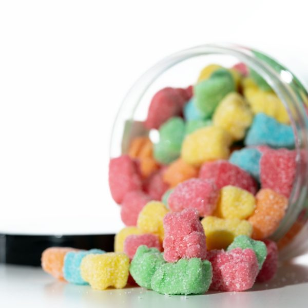 Just CBD Gummies - Sour Bears - 1000MG