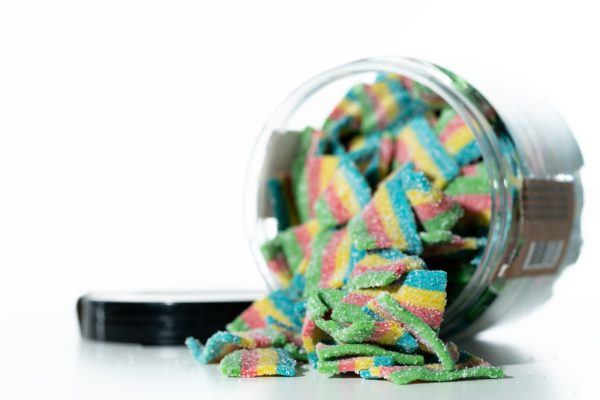 Just CBD Gummies - Rainbow Ribbons - 1000MG