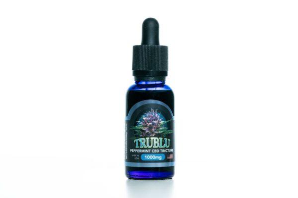 Blue Moon Hemp - Tru Blu Peppermint - Premium Tincture - 1000mg