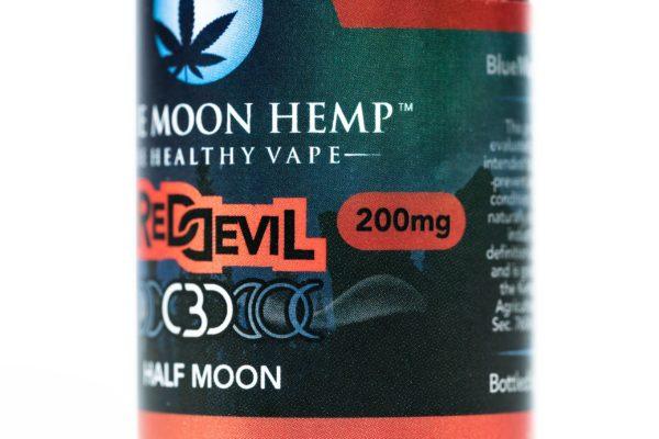 Blue Moon Hemp Red Devil - The Healthy Vape - 200mg