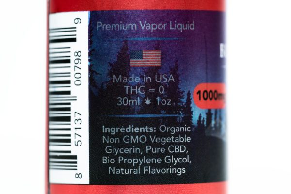 Blue Moon Hemp Red Devil - The Healthy Vape - 1000mg