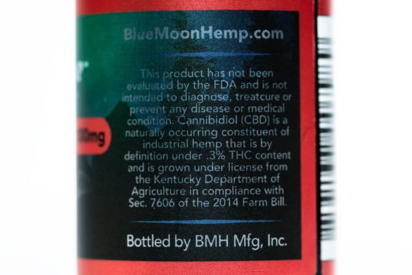 Blue Moon Hemp Red Devil - The Healthy Vape - 400mg