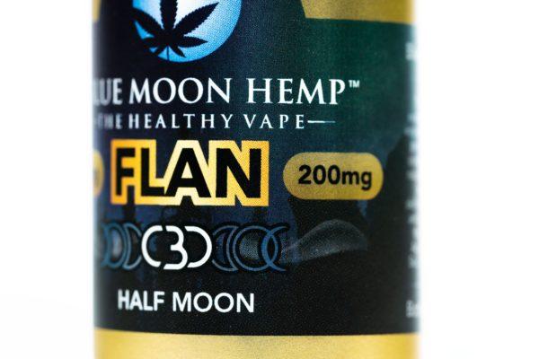 Blue Moon Hemp Flan - The Healthy Vape - 200mg