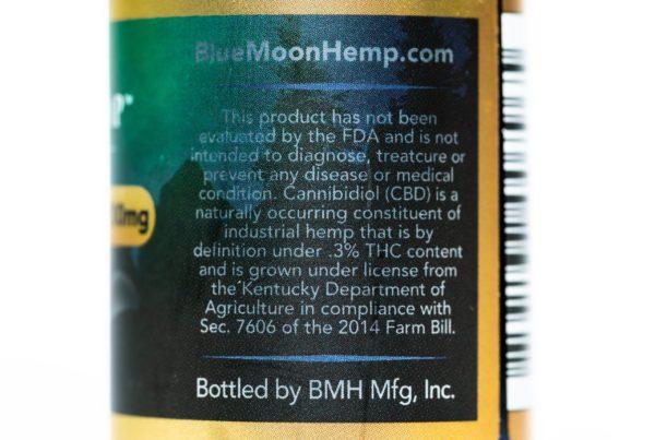 Blue Moon Hemp Flan - The Healthy Vape - 1000mg