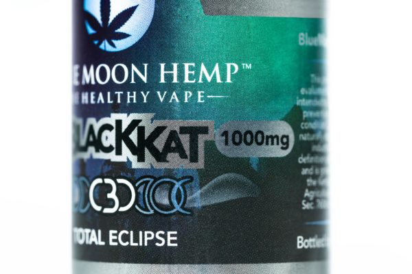 Blue Moon Hemp Black Kat - The Healthy Vape - 1000mg