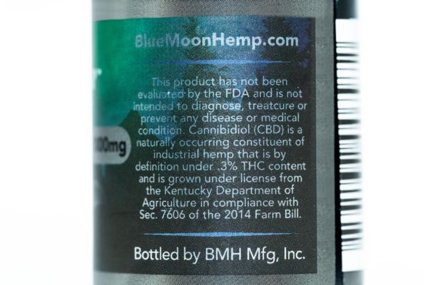 Blue Moon Hemp Black Kat - The Healthy Vape - 400mg