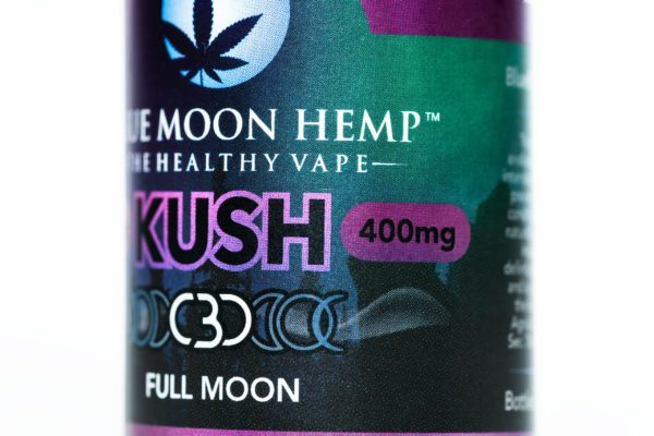Blue Moon Hemp Kush - The Healthy Vape - 400mg
