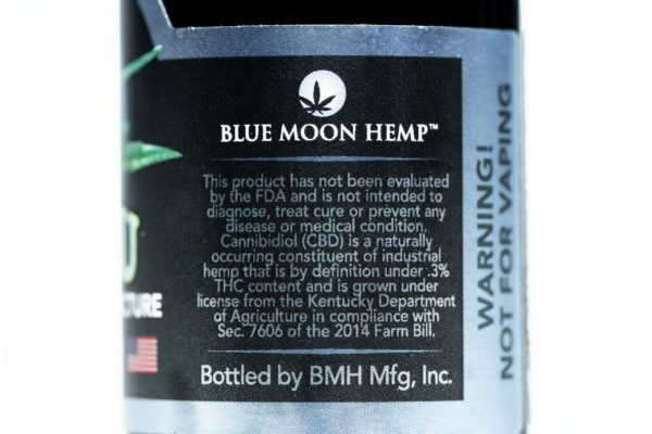 Blue Moon Hemp - Tru Blu Peppermint - Premium Tincture - 500mg