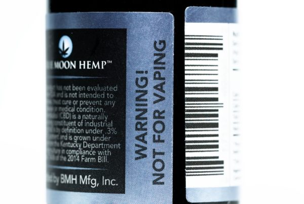 Blue Moon Hemp - Tru Blu Peppermint - Premium Tincture - 250mg
