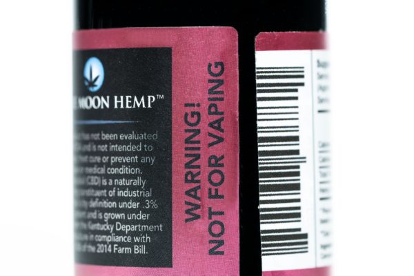 Blue Moon Hemp - Tru Blu Berry - Premium Tincture - 1000mg