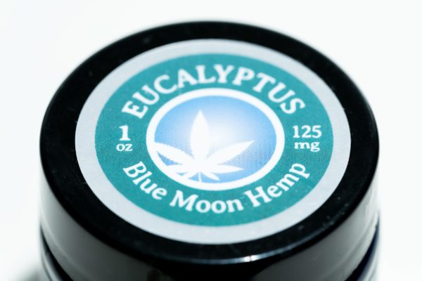 Blue Moon Eucalyptus - 125MG - CBD Salve (1oz)