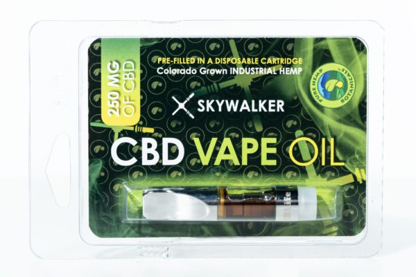 Pure Hemp Botanical CBD Vape Oil - Skywalker - 250MG 0.5G Cartridge