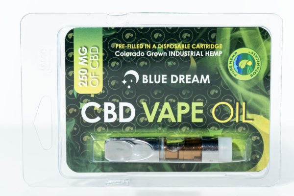 Pure Hemp Botanicals CBD Vape Oil - Blue Dream - 250MG 0.5G Cartridge