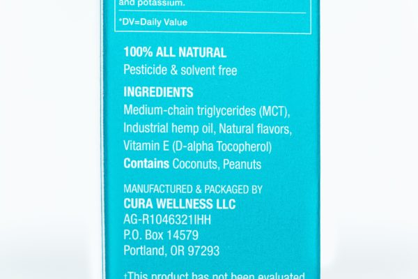 Select CBD Pets - Hemp Tincture - 750MG - Peanut Butter - 30ML
