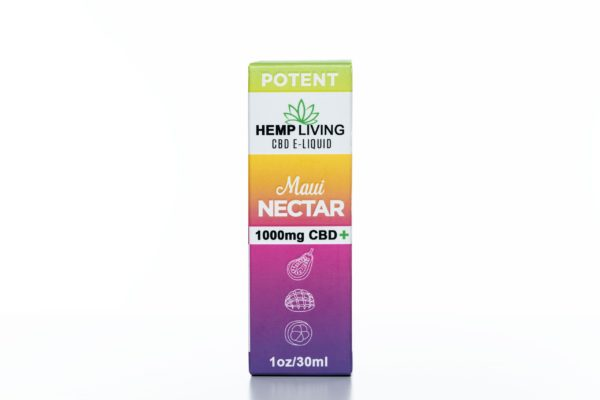Hemp Living CBD Maui Nectar - 1000MG - 30ML