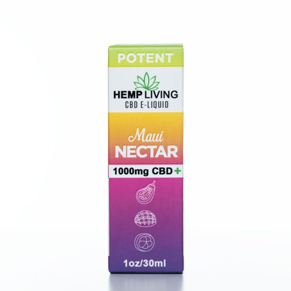 Hemp Living CBD Maui Nectar - 1000MG - 30ML