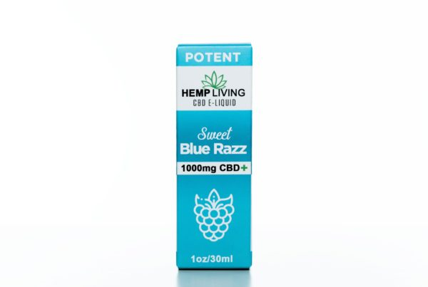 Hemp Living Sweet Blue Raz - 1000MG - 30ML