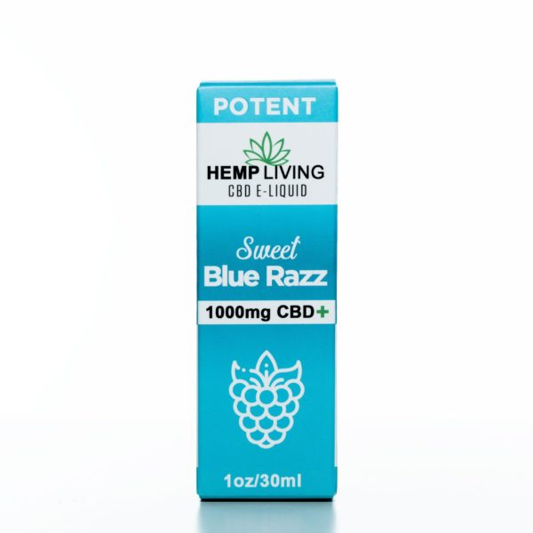 Hemp Living Sweet Blue Raz - 1000MG - 30ML