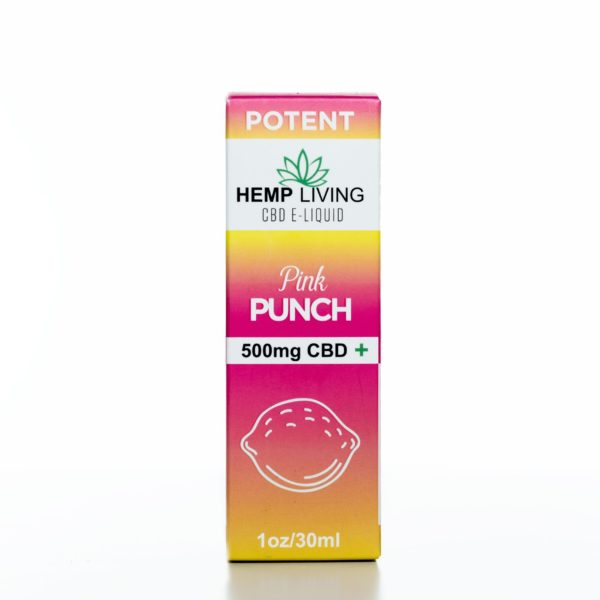 Hemp Living CBD Pink Punch - 500MG - 30ML