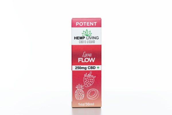 Hemp Living CBD Lava Flow - 250MG - 30ML