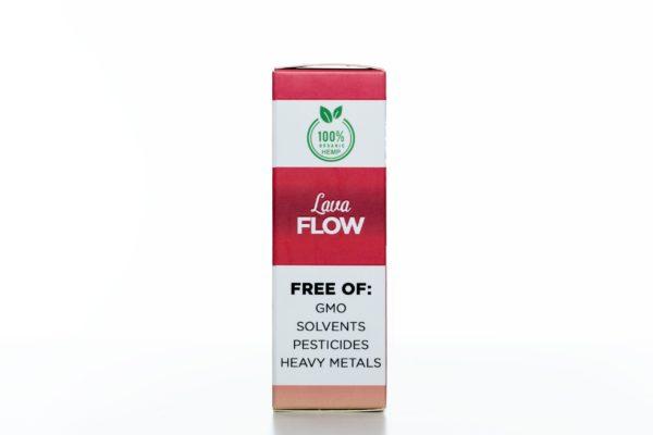 Hemp Living CBD Lava Flow - 500MG - 30ML