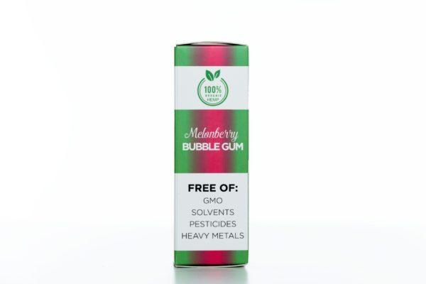 Hemp Living CBD Melonberry Bubble Gum - 500MG - 30ML