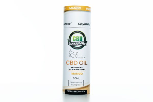 Cannapresso CBD Tincture Mango - 6000MG - 30ML