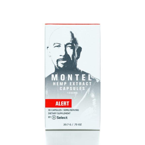 Select CBD Montel Hemp Extract Capsules - Alert - 1500MG - 30/co