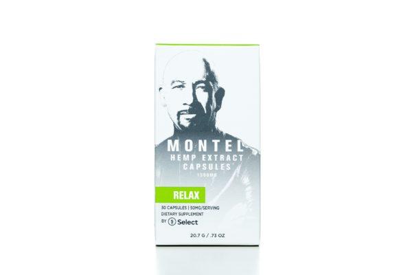 Select CBD Montel Hemp Extract Capsules - Relax -  1500MG - 30/co