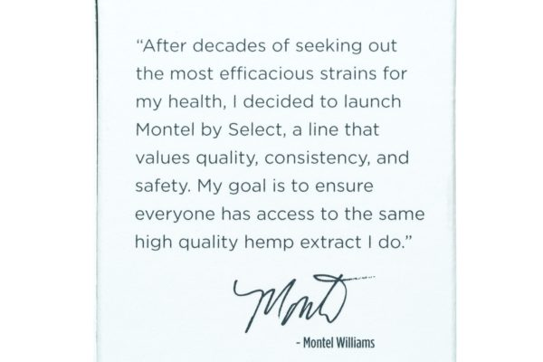 Select CBD Montel Hemp Extract Capsules - Relax -  1500MG - 30/co